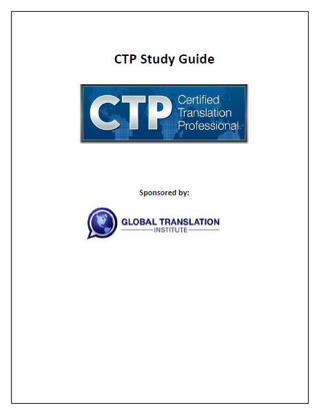 CTP- Study Guide